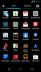 Motorola XT890 RAZR i - E-Mail - Konto einrichten - Schritt 3
