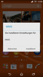 Sony Xperia Z3 Compact - MMS - Automatische Konfiguration - 2 / 2