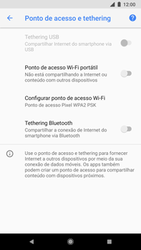 Google Pixel 2 - Wi-Fi - Como usar seu aparelho como um roteador de rede wi-fi - Etapa 9