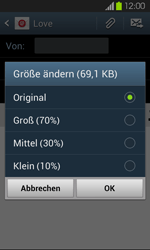 Samsung Galaxy S2 mit Android 4.1 - E-Mail - E-Mail versenden - 1 / 1