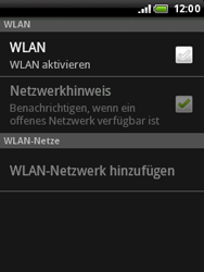 HTC Wildfire - WLAN - Manuelle Konfiguration - 6 / 10
