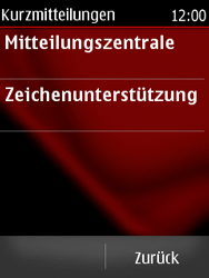Nokia Asha 300 - SMS - Manuelle Konfiguration - Schritt 6