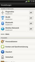 HTC One S - WLAN - Manuelle Konfiguration - 4 / 9