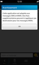BlackBerry Z10 - Contact, Appels, SMS/MMS - Envoyer un MMS - Étape 4