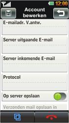 LG GD880 Mini - E-mail - handmatig instellen - Stap 9