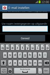 Samsung S6310 Galaxy Young - E-mail - e-mail instellen: IMAP (aanbevolen) - Stap 22