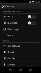 Sony C1905 Xperia M - Internet - Manual configuration - Step 4