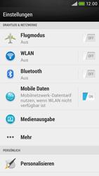 HTC Desire 601 - Internet - Manuelle Konfiguration - 4 / 28