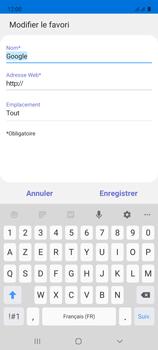Samsung Galaxy A51 - Internet et connexion - Naviguer sur internet - Étape 11