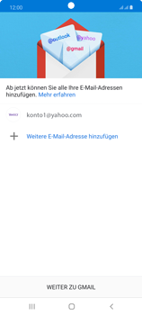 Samsung Galaxy Note 20 5G - E-Mail - 032b. Email wizard - Yahoo - Schritt 14