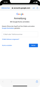 Apple iPhone XS Max - iOS 14 - E-Mail - 032a. Email wizard - Gmail - Schritt 7