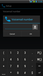 HTC Desire 516 - Voicemail - Manual configuration - Step 9