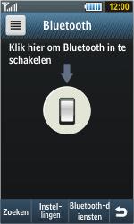 Samsung S8000 Jet - bluetooth - headset, carkit verbinding - stap 4