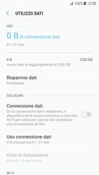 Samsung Galaxy S7 - Android N - Internet e roaming dati - Come verificare se la connessione dati è abilitata - Fase 6