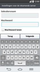 LG D620 G2 mini - E-mail - Account instellen (IMAP zonder SMTP-verificatie) - Stap 12