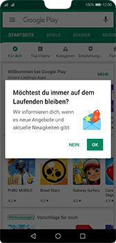Huawei P20 - Android Pie - Apps - Nach App-Updates suchen - Schritt 3