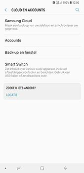 Samsung Galaxy A9 (2018) - toestel resetten - back-up maken met jouw account - stap 7