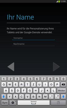 Samsung N5100 Galaxy Note 8-0 - Apps - Konto anlegen und einrichten - Schritt 5