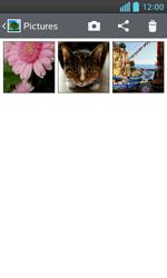 LG Optimus L5 II - Photos, vidéos, musique - Envoyer une photo via Bluetooth - Étape 5