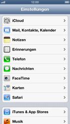 Apple iPhone 5 - Apps - Einrichten des App Stores - Schritt 3