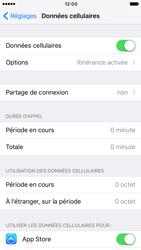 Apple iPhone 6s iOS 10 - Internet et roaming de données - Désactivation du roaming de données - Étape 4