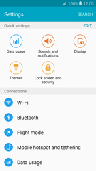 Samsung Galaxy S6 Edge - WiFi - WiFi configuration - Step 4