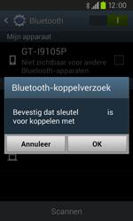 Samsung I9105P Galaxy S II Plus - Bluetooth - koppelen met ander apparaat - Stap 9