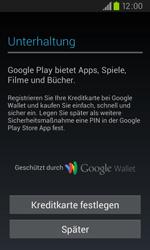 Samsung Galaxy S2 Plus - Apps - Konto anlegen und einrichten - 2 / 2