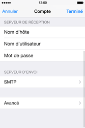Apple iPhone 4 S iOS 7 - E-mail - Configuration manuelle - Étape 26