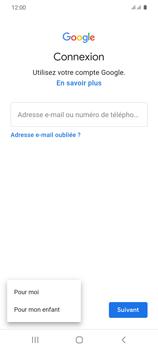 Samsung Galaxy S20 - Applications - Créer un compte - Étape 6