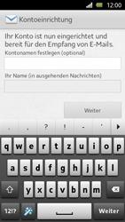 Sony Xperia U - E-Mail - Manuelle Konfiguration - Schritt 15