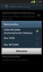 Samsung Galaxy S3 Mini - Netzwerk - Netzwerkeinstellungen ändern - 7 / 7