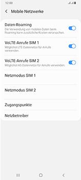 Samsung Galaxy A70 - Internet und Datenroaming - Deaktivieren von Datenroaming - Schritt 6