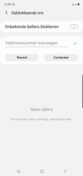 Samsung galaxy-note-10-dual-sim-sm-n970f - Beveiliging en ouderlijk toezicht - Nummer blokkeren - Stap 8