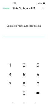 Oppo Reno 4 - Sécuriser votre mobile - Personnaliser le code PIN de votre carte SIM - Étape 12