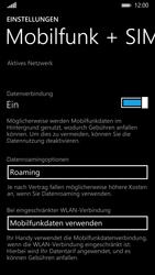 Nokia Lumia 930 - Internet und Datenroaming - Deaktivieren von Datenroaming - Schritt 5