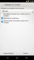 Sony Xperia Z1 - E-mail - configuration manuelle - Étape 17