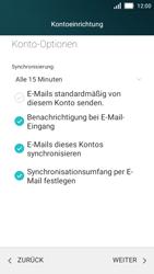 Huawei Y5 - E-Mail - Konto einrichten - Schritt 20