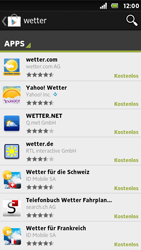 Sony Xperia U - Apps - Herunterladen - 0 / 0