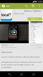 Sony Xperia V - Applicazioni - Installazione delle applicazioni - Fase 8