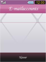 Samsung S7070 Diva - E-mail - handmatig instellen - Stap 17