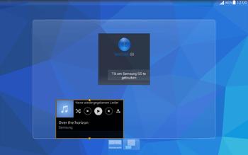 Samsung T535 Galaxy Tab 4 10.1 - Startanleitung - Installieren von Widgets und Apps auf der Startseite - Schritt 8
