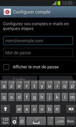 Samsung Galaxy Express - E-mail - Configuration manuelle - Étape 5