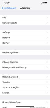 Apple iPhone XR - Apps - Eine App deinstallieren - Schritt 4