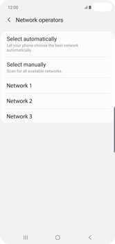 Samsung Galaxy S10 Plus - Network - Manual network selection - Step 10