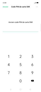 Oppo Find X2 Lite - Sécuriser votre mobile - Personnaliser le code PIN de votre carte SIM - Étape 7