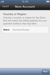 Apple iPhone 4 S - Applications - Create an account - Step 5