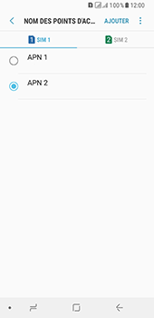 Samsung Galaxy A8 (2018) - Internet - Configuration manuelle - Étape 19