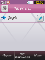 Samsung S7070 Diva - Internet - Internetten - Stap 9