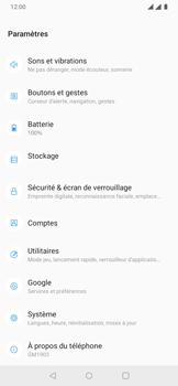 OnePlus 7 - Aller plus loin - Restaurer les paramètres d'usines - Étape 4